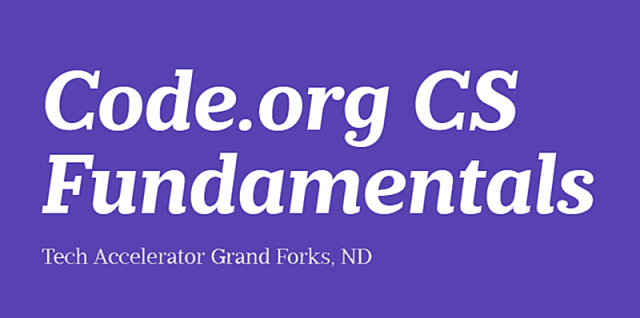 CS Fundamentals Workshop in Grand Forks on July 27